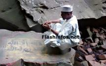 La Prière d'Abdoul Mbaye à la Cascade de Dindefélo