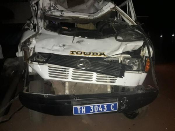 Accident à MBACKÉ : Un mort, une trentaine de blessés dont huit graves