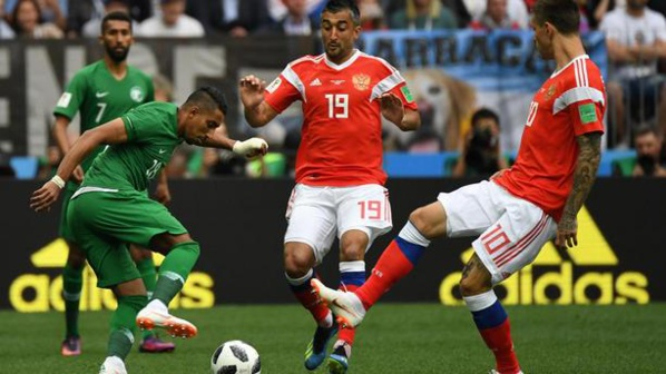 Mondial 2018 en match d 39 ouverture la russie bat l 39 arabie - Match d ouverture coupe du monde 2014 ...