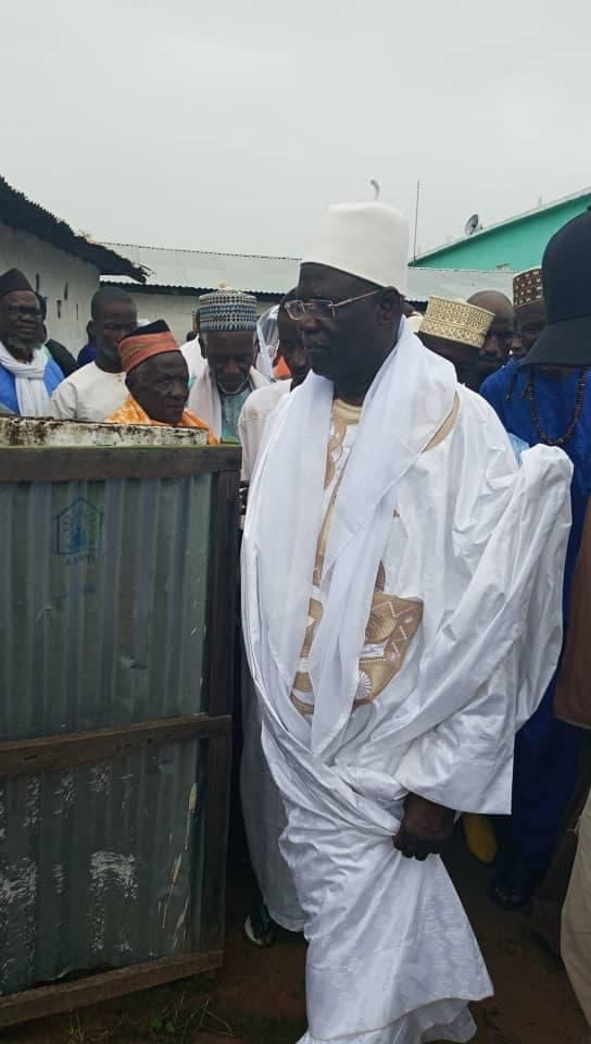Images : Ziarra du Vénéré Marabout ElHadj Fodé Saloum Dramé à Ndjama-Pakao