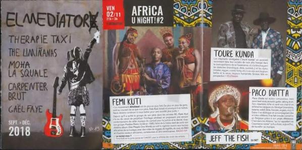 Perpignan : Le Touré-Kunda, Paco Diatta, Fémi Kuti…sur la scène de El Médiator pour un concert exceptionnel