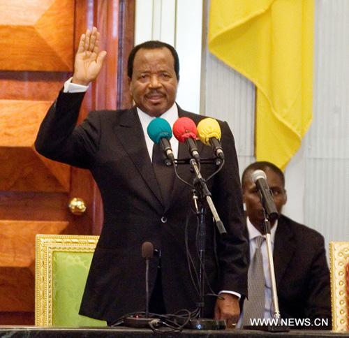 Cameroun: Paul Biya prête serment pour son 7ème mandat