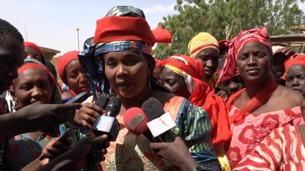 CAS-CAS dans L'Ile A Morphil : Les femmes ont marché pour manifester leur désaccord envers les autorités gouvernementales