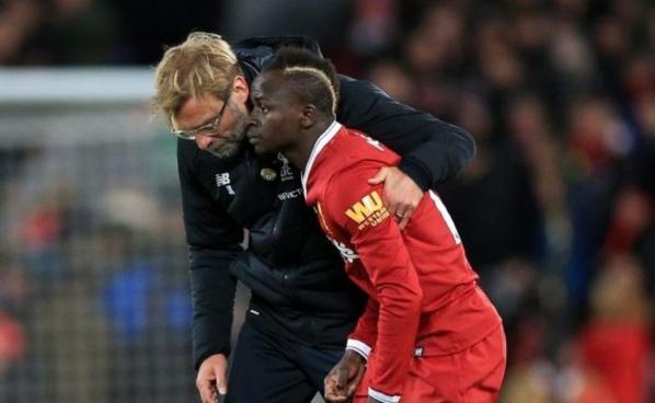 Liverpool : Sadio Mané blessé à quelques jours du match contre Naples !