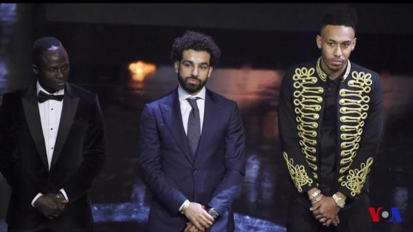 Mohamed Salah remporte le ballon d'or africain 2018