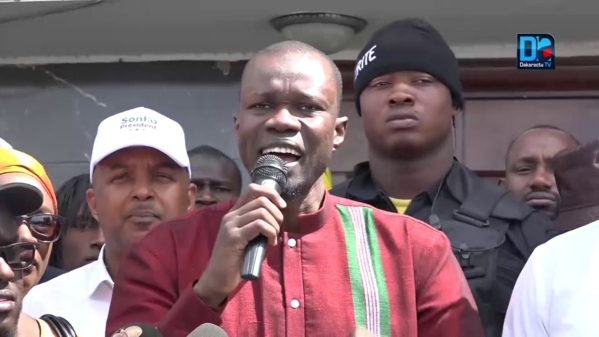 "Sonko : ""Macky a dit à Aly Ngouille Ndiaye : si on perd tu vas me devancer en prison"""
