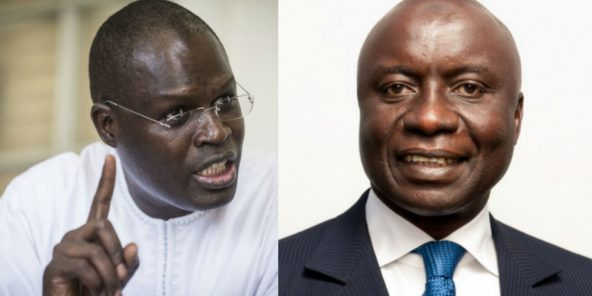 Présidentielle 2019 : Khalifa Sall soutient Idrissa Seck