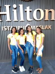 Miss Sénégal et ses trois dauphines en vacances à Istanbul