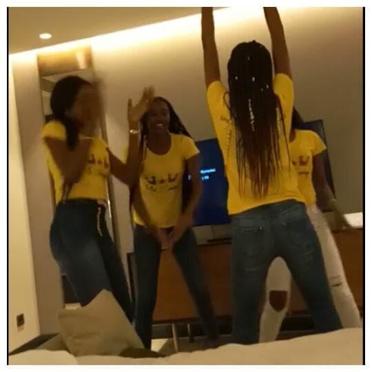 Miss Sénégal et ses dauphines se lâchent à Istanbul sur la musique de...