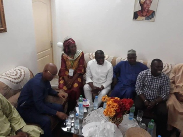 Le Député-Maire Abdoulaye Baldé a réservé un accueil chaleureux à Cellou Dalein Diallo en tournée à Ziguinchor