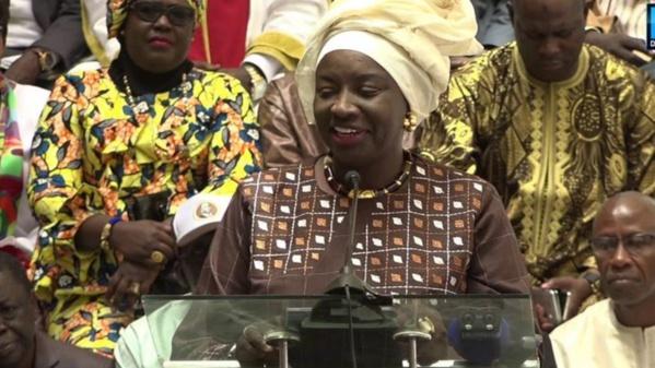 Mimi Touré, nouvelle Présidente du Conseil Economique Social et Environnemental (CESE)