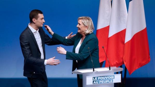 Elections européennes: Le RN de Marine Le Pen en tête en France