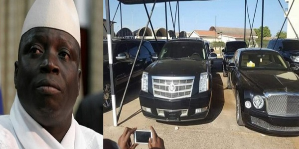 Le Gambie : Le gouvernement annonce la saisie de tous les bien de Jammeh
