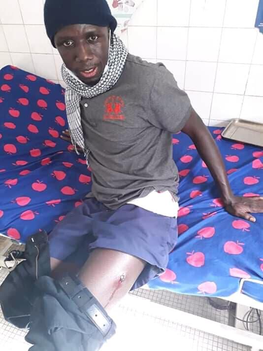 Place de l'Obélisque : Le jeune Abdoul Khadr Sano parmi les blessés