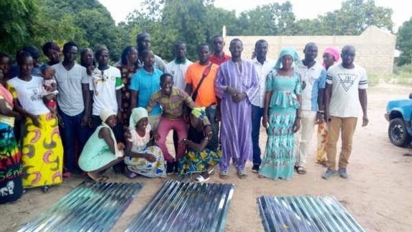 Adéane: Le Foyer des jeunes de Baghagha-Sibenk reconstruit grâce à la générosité de Me Diockou