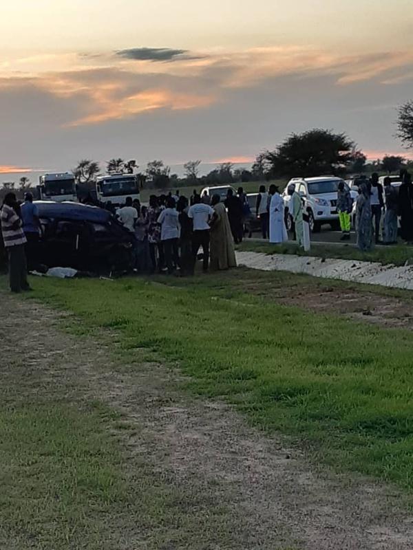 Axe Diourbel-Touba : Cheikh Amar victime d'un accident