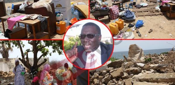 Almadies: Sa maison démolie, Me Moussa Bocar Thiam accuse Mamour Diallo et IBK