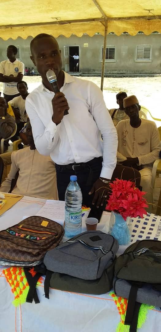 Adéane : Me Diockou parrain des 48 heures des Étudiants et Élèves de Tambacoumba