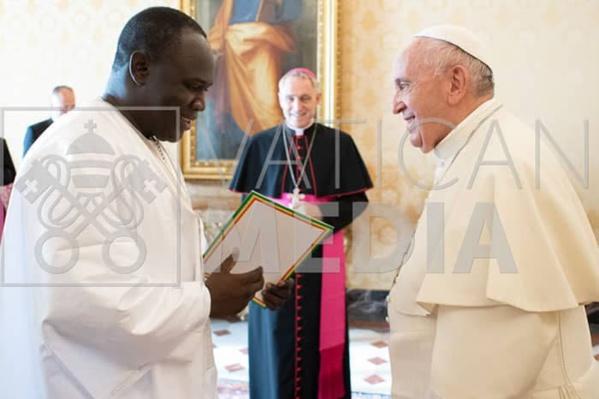 Le président Fiacre Coly au Vatican sur invitation de....