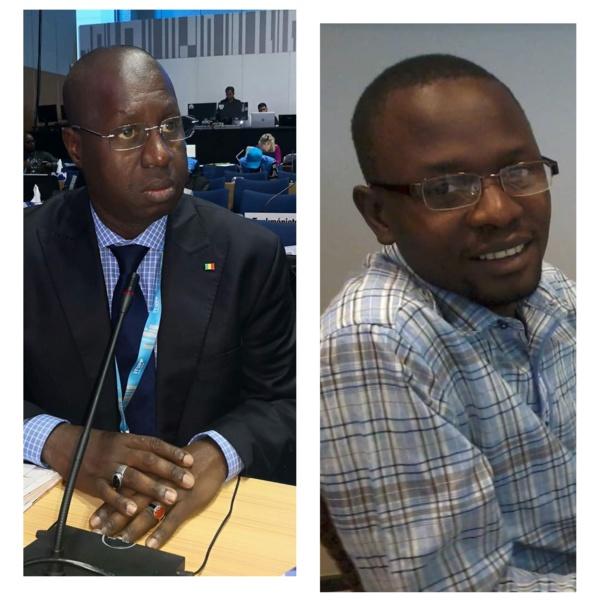 Le journaliste Khalil Diémé dans les locaux de la Dic suite à une plainte du ministère de...