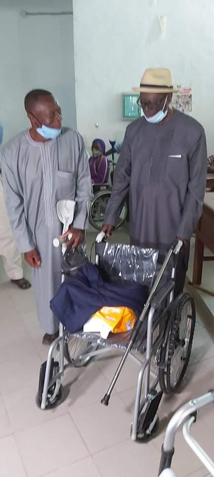 Ziguinchor : Le GRPC de Robert Sagna au chevet des personnes vivant avec un handicap