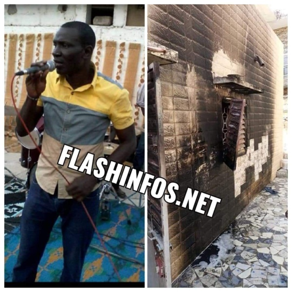 Ziguinchor : La maison du Chanteur Pen 2 prend feu...