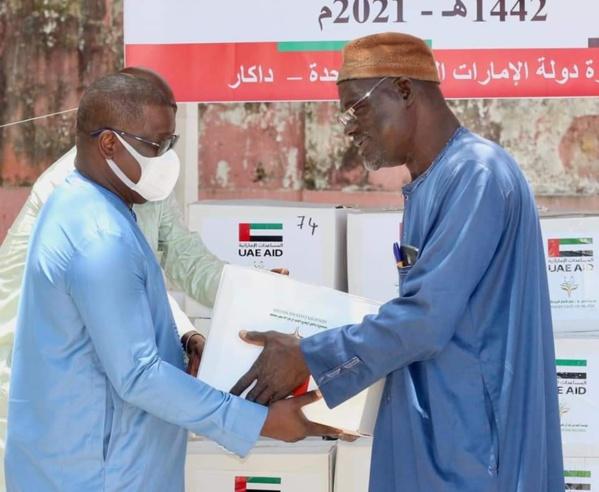 Ziguinchor : Baldé au secours des populations démunies avec 500 kits alimentaires