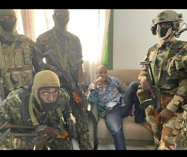 Coup d'Etat en Guinée : L'armée prend le pouvoir...Condé arrêté