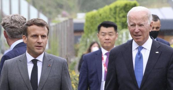 Paris - New York : Macron et Biden jouent l'apaisement