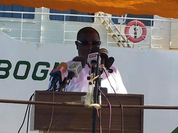 An 19 du Joola : Discours du maire Abdoulaye Baldé de Ziguinchor