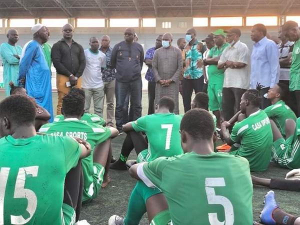 Le Casa-Sport remporte la coupe du Sénégal édition 2021