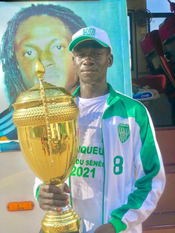 Ziguinchor :  Après 111 km de marche, Sakoudji accueilli et honoré par Seydou Sané et le Casa-Sport