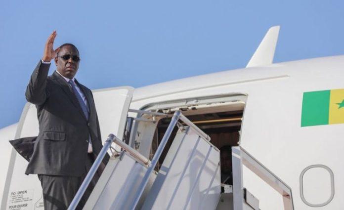 Macky Sall à Freetown pour l'investiture de Julius Maada Bio