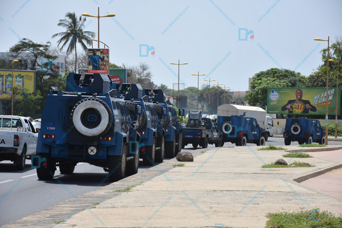 Visite du Président Macky Sall à l'Ucad : Le campus bunkerisé