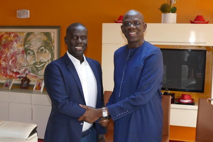 Rencontre Mame Adama Guèye/ Malick Gakou : Vers la mise en place d'une plateforme de défense de la démocratie et des institutions