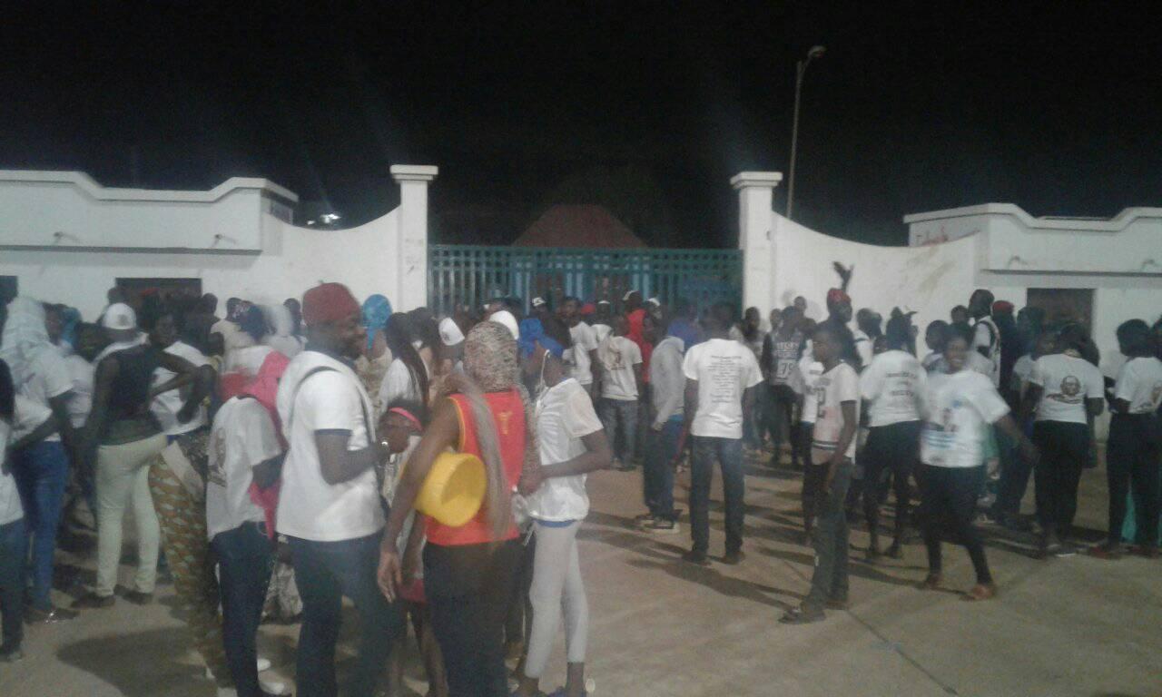 Meeting à Kolda : Macky abandonné au stade avant sa prise de parole
