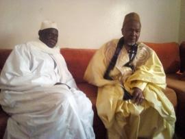 Sédhiou : Le Marabout ElHadj Thierno Abdourahmane Barry reçu à Ndjama par El Hadj Sidya Dramé