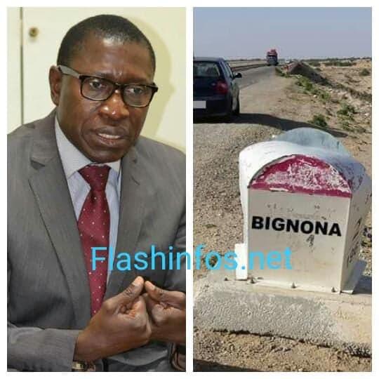 """Mamina Kamara prévient : """"Personne n'a le droit de transporter des ordures de Ziguinchor vers Bignona"""""""