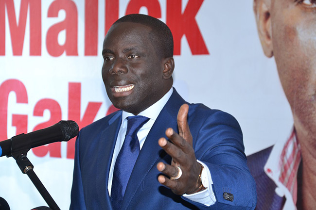 """Gackou : """" Je félicite le président Macky Sall pour sa sincérité envers les syndicats..."""""""