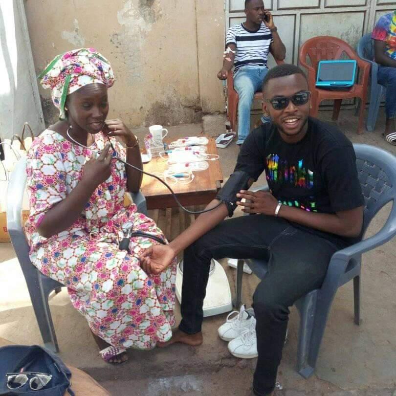 Santé: SOS KOLDA a procédé à un don de sang ce dimanche