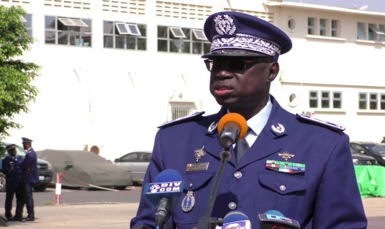 Le Général Jean Baptiste Tine nouveau patron de la Gendarmerie nationale