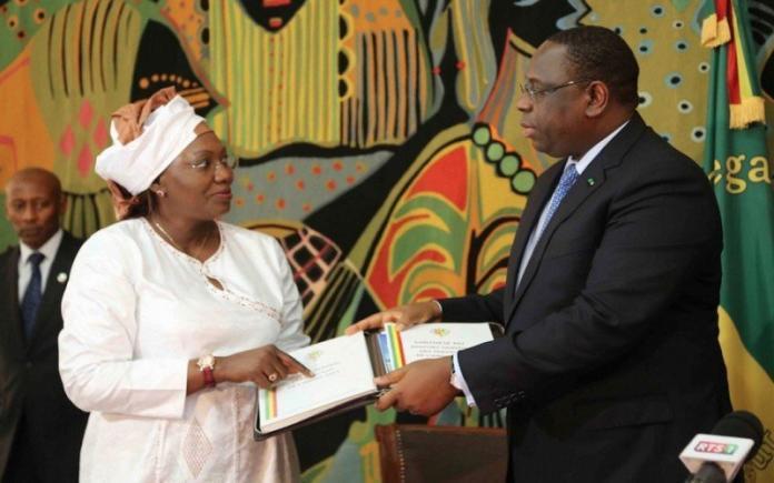 Décret N°2020-976 : Aminata Tall a été nommée Présidente Honoraire du CESE