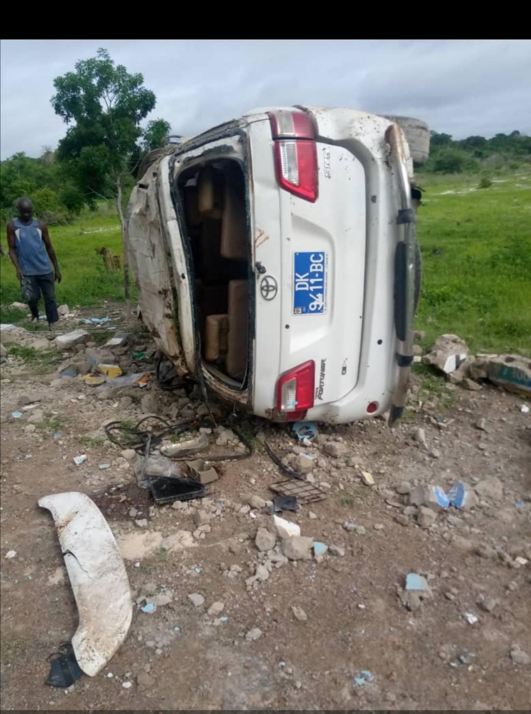 Un accident de la circulation fait 2 morts et des blessés