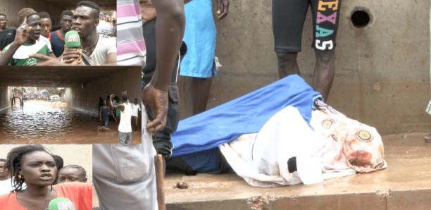 Inondations : Un mort dans le tunnel de Guinaw Rails