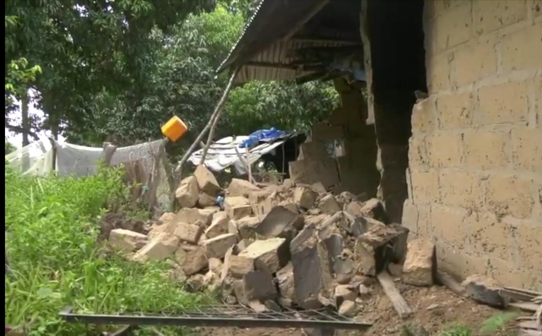 Enampore : Plus de 154 maisons dévastées par la pluie... Le maire lance un appel...