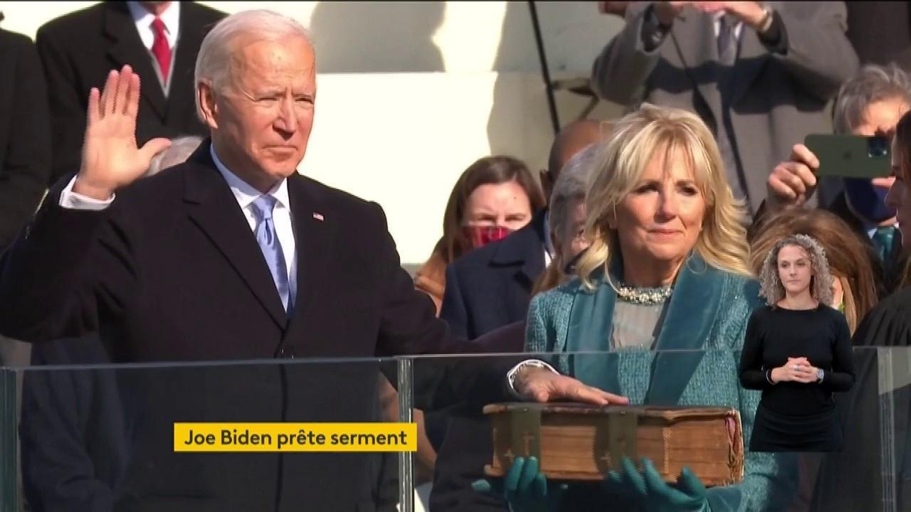 Biden investi 46e président des États-Unis