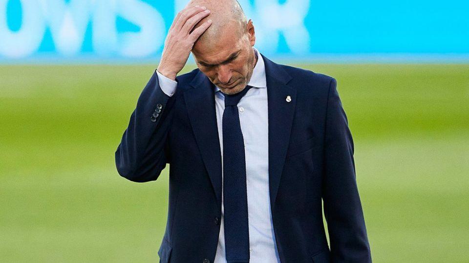 Zinédine Zidane positif au coronavirus