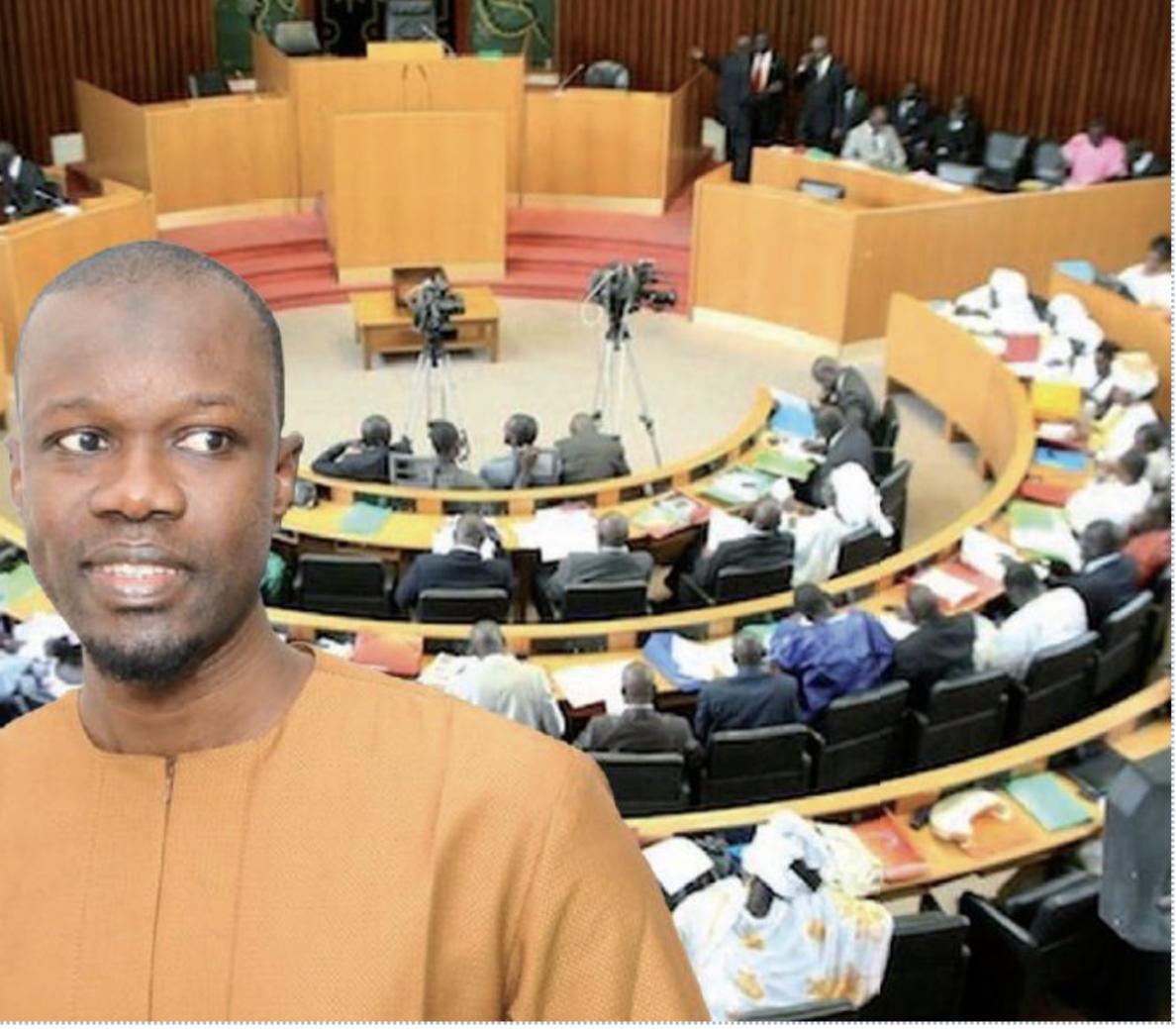 """Sonko """"déchire"""" la convocation de la Commission ad hoc de l'Assemblée"""