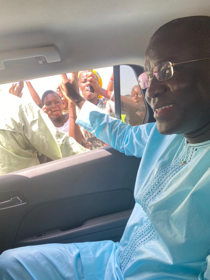 Retour en images sur la tournée politique patriotique nationale d'Aliou Sow à Dagana