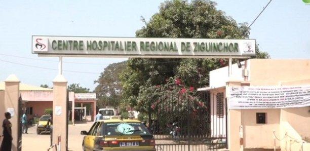 Ziguinchor : Les travailleurs de l'hôpital régional en grève pour 72 h